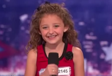 Avery During America Got Talent